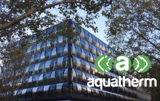 aquatherm edificio blue building