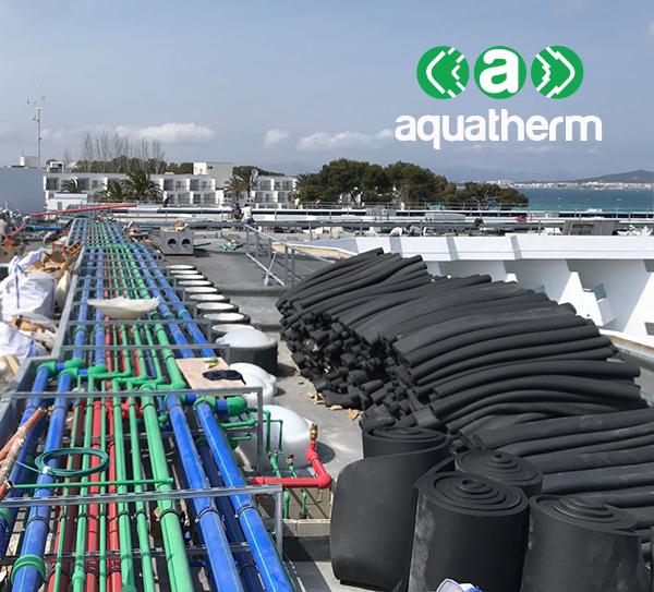 Aquatherm 3 tipos tuberías Iberostar Playa de Muro
