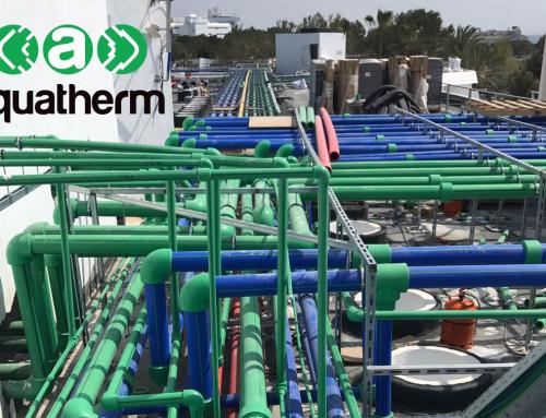 La cadena Iberostar Hotels continúa apostando por el material de PP-R de la marca aquatherm®