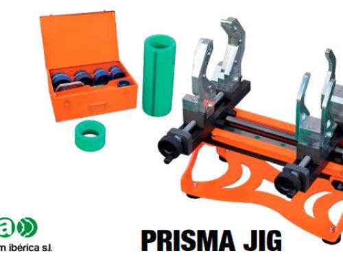 aquatherm® presenta la máquina de aproximar Prisma JIG