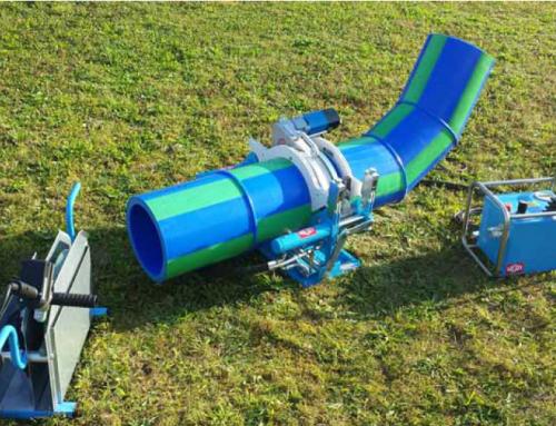 Nueva máquina de dos anillos con soldadura para calefacción aquatherm®