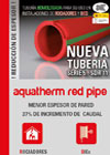 aquahterm red pipe tríptico