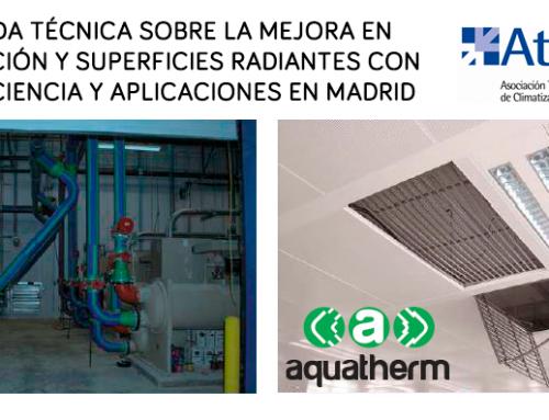 Jornada Técnica sobre la mejora en distribución y superficies radiantes con PP-R: Eficiencia y aplicaciones en Madrid