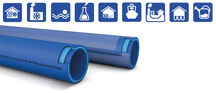 aquatherm blue pipe MF RP campos de aplicación