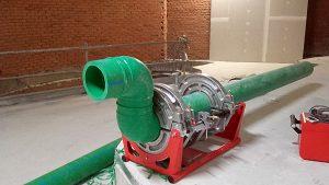 Instalación en el Edificio Canalejas con tuberías de agua fría y caliente Aquatherm Green Pipe, imagen 3