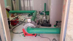 Instalación en el Edificio Canalejas con tuberías de agua fría y caliente Aquatherm Green Pipe, imagen 4