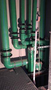 Instalación en el Edificio Canalejas con tuberías de agua fría y caliente Aquatherm Green Pipe, imagen 2