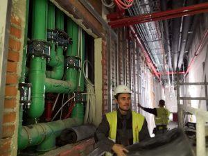 Instalación en el Edificio Canalejas con tuberías de agua fría y caliente Aquatherm Green Pipe, imagen 5
