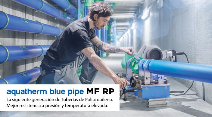 Nuevo aquatherm blue pipe MF-RP, tuberías de polipropileno, tuberías plásticas