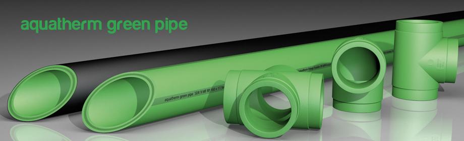Componentes del sistema aquatherm Green Pipe