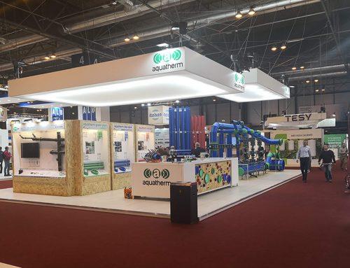 Aquatherm Ibérica ha estado presente en el Salón Internacional de la Climatización y Refrigeración